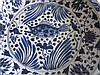 ChineseLarge Yuan type fish charger Blue & white with