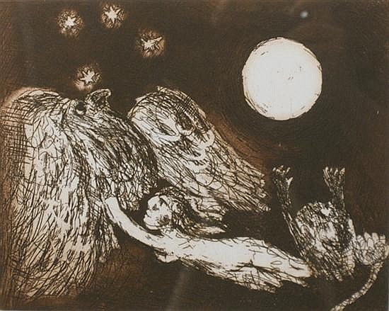David Boyd (1924-2011) (Untitled) 1998 etching