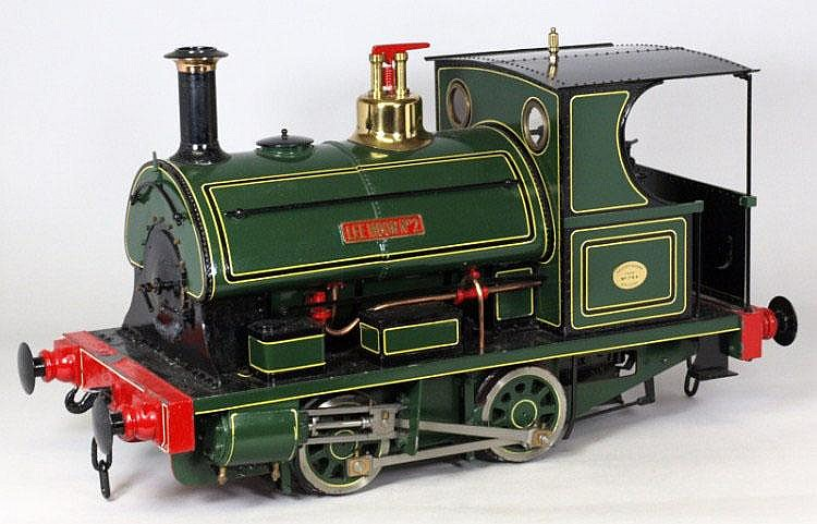 A 5in. gauge live steam 0-4-0 saddle tank