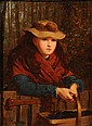 James Hayllar [1829-1920]: The Blackberry Girl:-