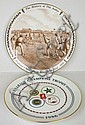 A Doulton collectors plate 'The History of the