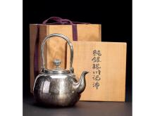 Shangmei Tang Kim Jong-made sterling silver fog hail boiling soup weighs about 660g