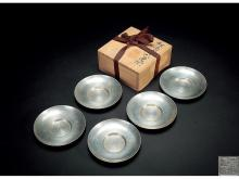"Pure tin saucer five round-style ""IV possession six"" models"