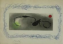 Joan MIRO 1893-1983 Composition