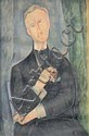 Amedeo MODIGLIANI 1884-1920 HOMME À LA PIPE