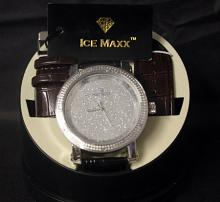 Men's Very Fancy Ice Maxx Watch with Exchangeable Leather Strap. (1ZT)