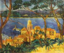 Original Acrylic on Canvas by Nicolas B. (36C)