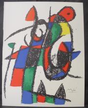 Original Lithograph By Joan Miro