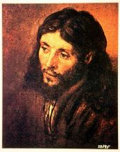 Rembrandt   - HEAD OF CHRIST