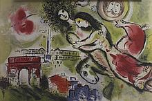 Lithograph After  Marc Chagall (27L)