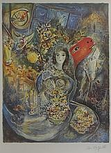 Lithograph After  Marc Chagall (28L)