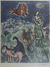 Lithograph After  Marc Chagall (30L)