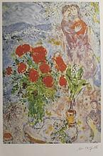Lithograph After  Marc Chagall (31L)