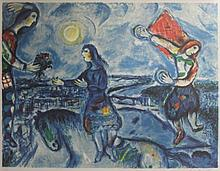 Lithograph After  Marc Chagall (32L)