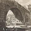 Piranesi, Ponte Cestio, 1757