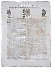 [Papal edict on Dresses] Papal Laws, 1724 NOT IN USA