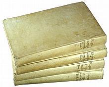 [Canon Law] Riganzio, Regulae Cancellariae 1744, 4 vols