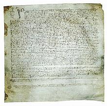 [Notary, Testament] Manuscript on vellum, Italy 1423