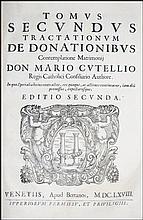 [Donations] Cutelli, De donationibus, 1668