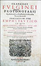[Real Property, Long lease contracts] Foligni, 1665