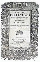[Sources of Western Law] Justinianus, Corpus Iuris 1619