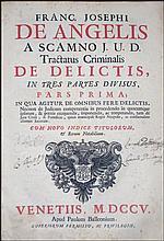 [Criminal Law] De Angelis, 1705