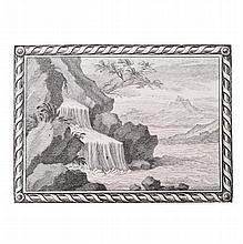 [Florence, Arno River] Corsini - Feroni, 1732