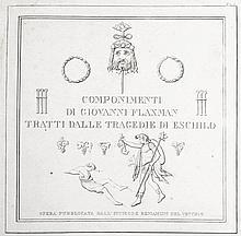 [Art, Engravings] Flaxman, s.d. (circa 1820)