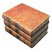 [Roman History, Roman Republic] Sallustius, 1777, 3 vol