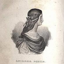 [Women, Portraits, Corsica] D'Abrantes, 1835
