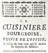 [Gastronomy] Menon, 1762