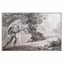 [Chivalry, References] Ferrario - Melzi, 1828-1829, 4 v