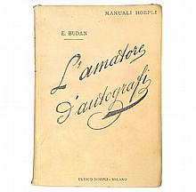 [Autographs, Manuali Hoepli] Budan, 1900