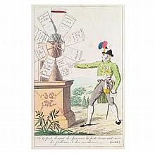 [France, Biographies] Societé de Girouettes, 1815