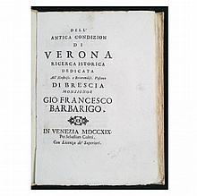 [Verona] Maffei, 1719