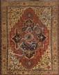 A Serapi (Heriz) carpet, East Azerbaijan