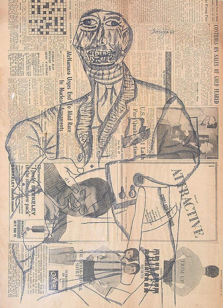 Francis Newton Souza (1924 - 2002), Gentlemen