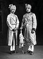 VANDYK, LONDON, Portrait of H. H. Maharaja Umaid Singh and H. H. Maharaj Ajit Singh of Jodhpur, c. 1928