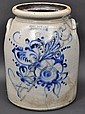 FORT EDWARD POTTERY STONEWARE CROCK