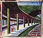 Ursula Fookes (1906-1991) Train Station the very