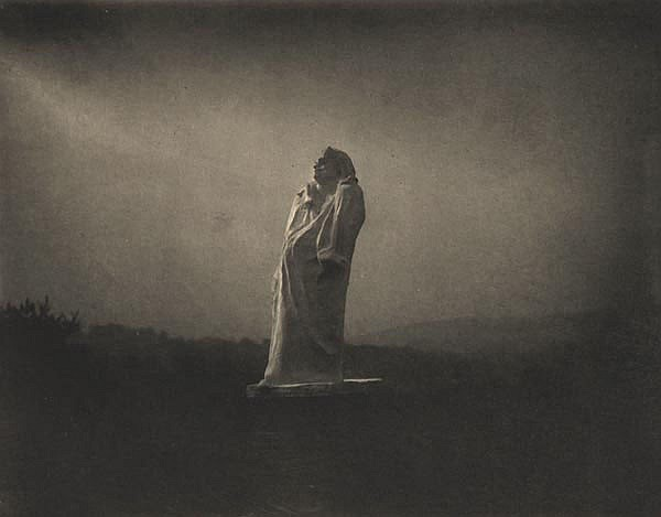 Edward Steichen (1879-1973). Balzac Toward the