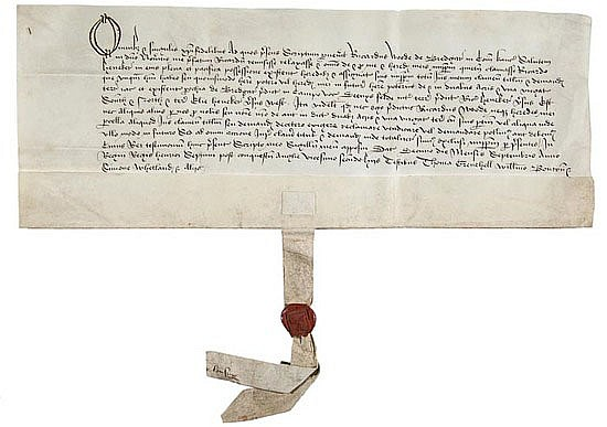 Kent.- Bredgar. Agreement between Richard Wode of