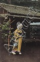 Japense Postcards.- album of 72 mounted postcards