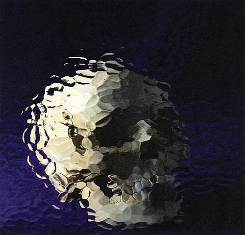 Marcus Harvey (b.1963) skull lithograph printed in