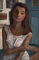 William Crosbie (1915-1999) Portrait of a Young