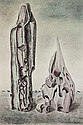 John Banting (1902-1972) Surrealist Forms, c1940
