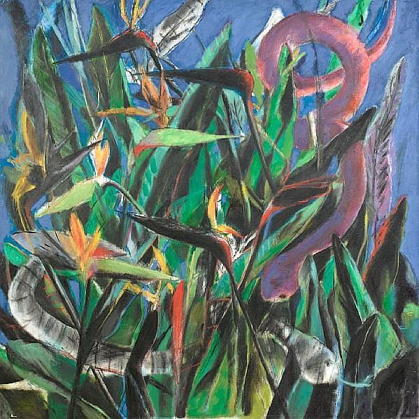 Albert Adams (South African, 1929-2006) Kirstenbosch
