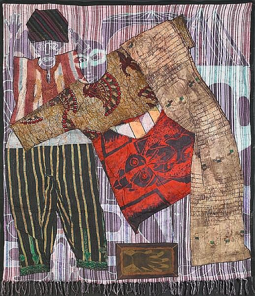 Tunde Samuel Odunlade (Nigerian, born 1954) Paminku (Kill me and let me die), 1992 unframed