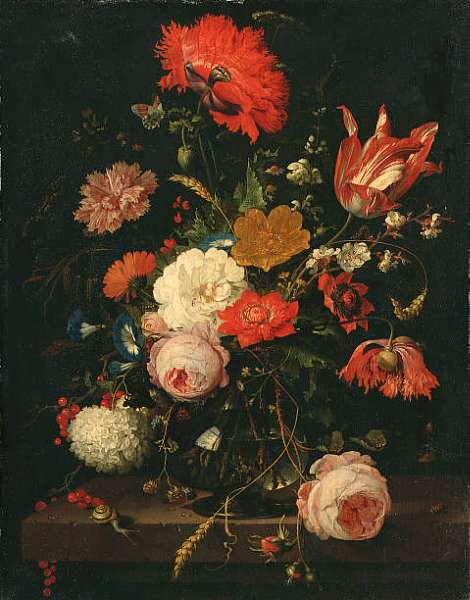 TO BE SOLD BY ORDER OF THE EXECUTORS OF A DECEASED'S ESTATE Abraham Mignon (Frankfurt 1640-1679)