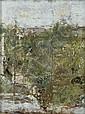 Antonio Mancini (Italian, 1852-1930) Veduta dalla finestra dello studio